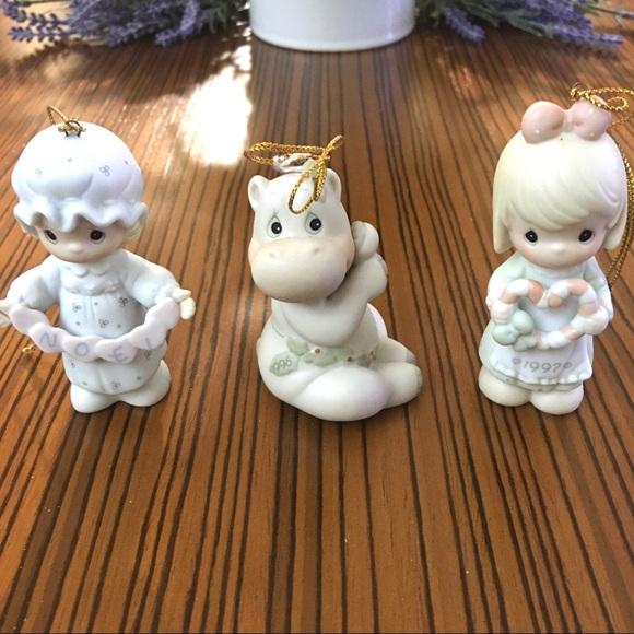 ‼️SOLD‼️Vintage Precious Moments Ornaments